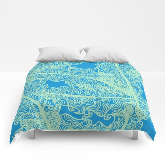Welcome To The Sea Jungle Comforters