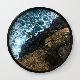 Sea Meets Land Wall Clock