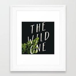 The Wild One Framed Art Print