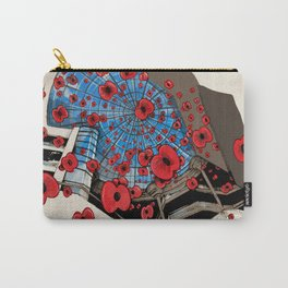 West Orchards Poppy Drop Carry-All Pouch