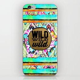wild, wild, wild iPhone Skin