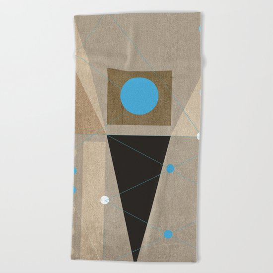 Geometric/Abstract 7 Beach Towel