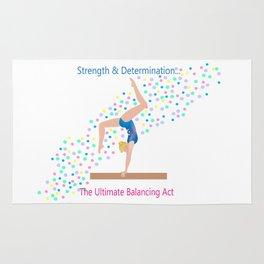 Gymnastics - Ultimate Balancing Act (on Balance Beam) Rug