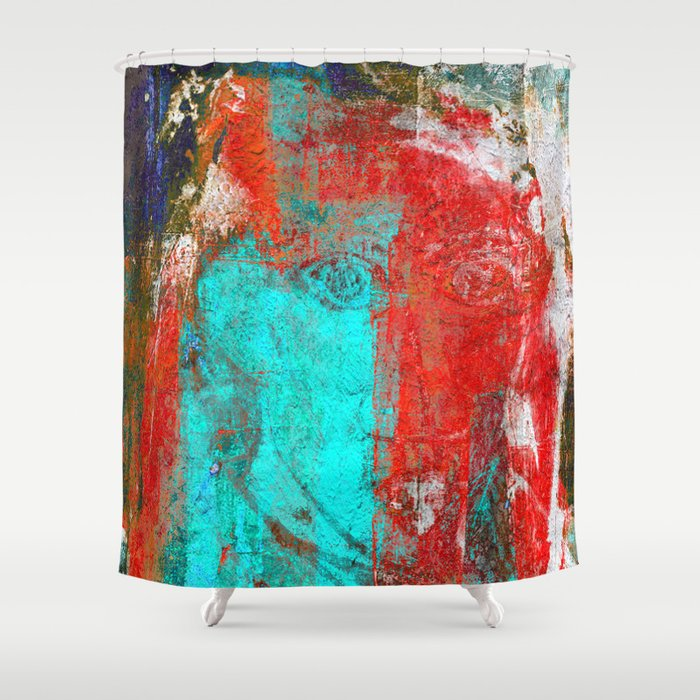 Beau Picasso Shower Curtain