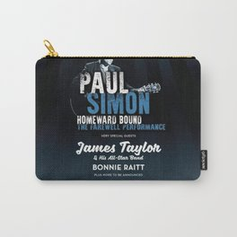 PAUL SIMON BRITISH SUMMER TIME TOUR DATES 2019 KAMBOJA Carry-All Pouch