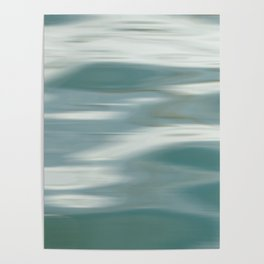 Abstract wave and light Poster