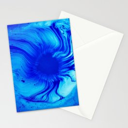 Blue Eye Of Sea Stationery Cards