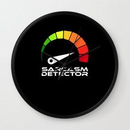 Sarcasm Detector Wall Clock