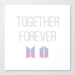 Together Forever BTS Canvas Print