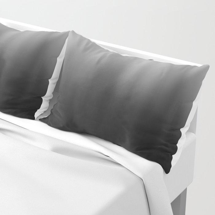 charcoal ombre Pillow Sham