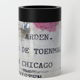Urban poetry Can Cooler