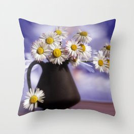 I Love You my Gänseblümcher Throw Pillow