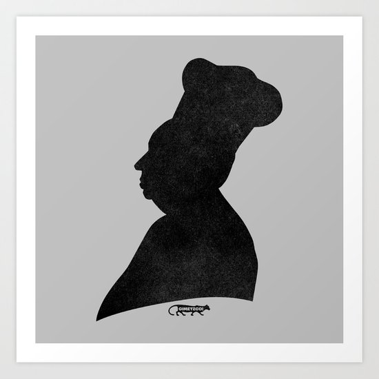 Hitchcook Art Print