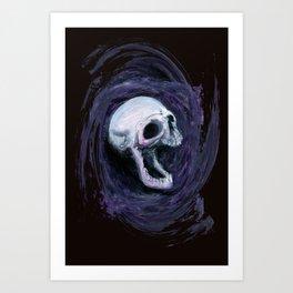 Skull Shirt Design #1 Art Print