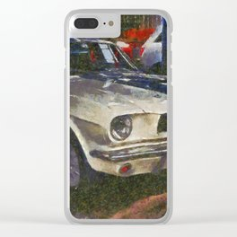 Shelby GT350 Clear iPhone Case