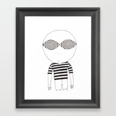 hypnotic child Framed Art Print