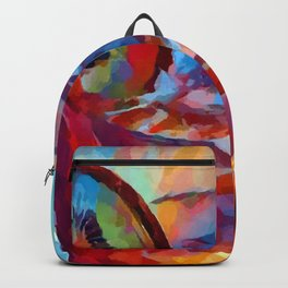 Cocktail Watercolor Backpack