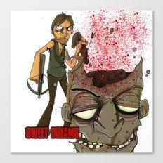 Oh Daryl.. Sweet Sweet Daryl Canvas Print