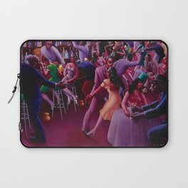 African-American Classical Masterpiece 'Nightlife' by Archibald Motley Laptop Sleeve