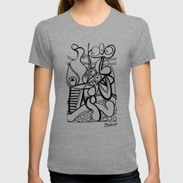 Pablo Picasso Large still life with pedestal, Grande nature morte au guéridon Artwork, Tshirts, Prints, Posters, Men, Women, Kids T-shirt