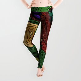 Mirroring Devastation Leggings