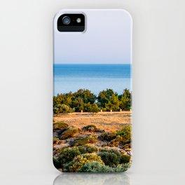 Mediteran Landscape iPhone Case