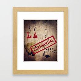 L.A. Confidential Framed Art Print