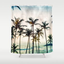 No Palm Trees Shower Curtain
