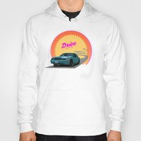 drive Hoodies featuring Drive by Villaraco
