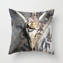 Homage to Georgia Throw Pillow
