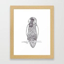 Cotorra Framed Art Print