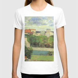 "Paul Gauguin - The Market Gardens of Vaugirard ""Les Maraîchers de Vaugirard"" (1879) T-shirt"