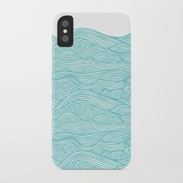 Waves iPhone Case