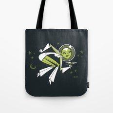 Hallucinating Pluto Tote Bag