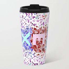 Geometric - Sexy triangles Travel Mug
