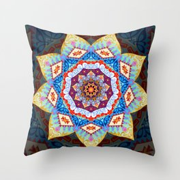 The Earth is One Country Throw Pillow