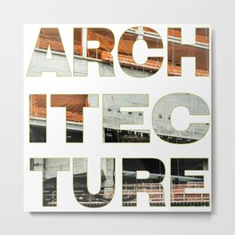 Architecture_Achitec-true Metal Print