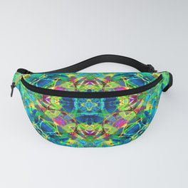 kaleidoscope Crystal Abstract G116 Fanny Pack