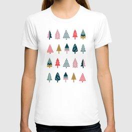 Christmas Trees (Arctic) T-shirt