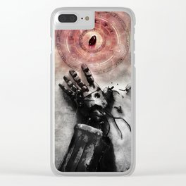Philosopher's stone Clear iPhone Case