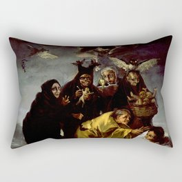 THE WITCHES SPELL - FRANCISCO GO Rectangular Pillow