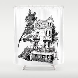 Fantasy of Saint Denis and Roy Shower Curtain
