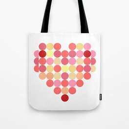 Circles of Love Tote Bag
