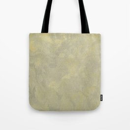 Champagne Skies Silver And Gold Metallic Plasters - Fancy Faux Finishes Tote Bag