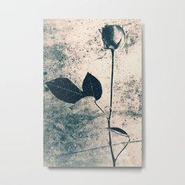 Flower Art Metal Print