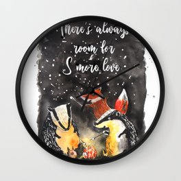 Smore Love Wall Clock