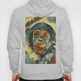 AnimalArt_Chimpanzee_20170602_by_JAMColorsSpecial Hoody