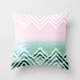 Bermuda Sky Pattern Throw Pillow