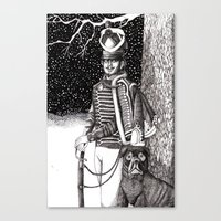 soldier Canvas Prints featuring Soldier by Thom Deer