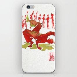 Capoeira 321 iPhone Skin